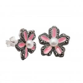 Σκουλαρίκια λουλούδι