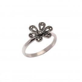 Δαχτυλίδι γυναικείο με λουλούδι