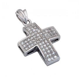 Ασημένιο Γυναικείος Σταυρός